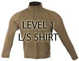 HALYS PCU Level 1 L/S Shirt